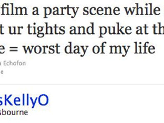 Kelly Osbourne Is Having A Bad Day