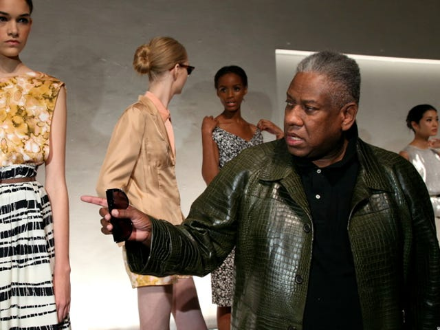 André Leon Talley Is Ready For A Nicely Dressed Lesbian President