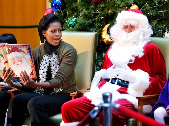 Michelle Realizes Guy In The Red Suit Looks Oddly Familiar