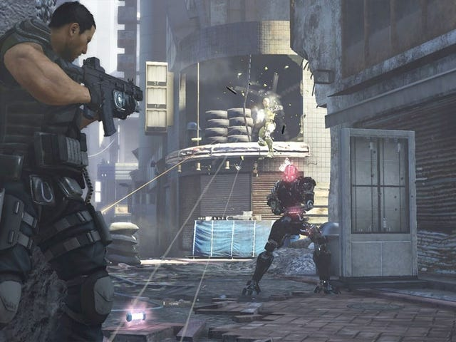 There Were Two Things I Liked About Binary Domain, the Robot Shooter From the Yakuza Guys