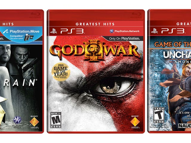 God of War III, Uncharted 2 & Heavy Rain Are Now 'Greatest Hits'