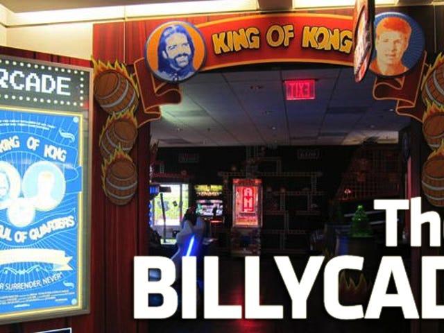 Billy Mitchell Opens an Arcade