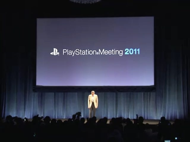 Live From Sony's Tokyo Press Conference