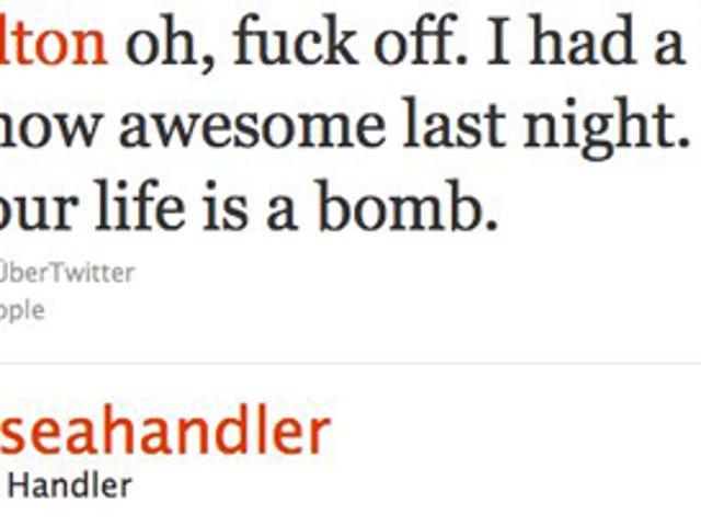 Chelsea Handler & Perez Hilton Feud On Twitter