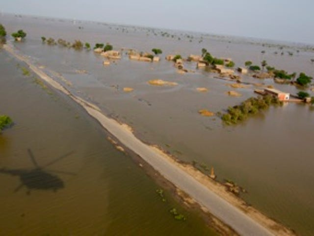 The Quiet Response To Pakistan's Flood Disaster