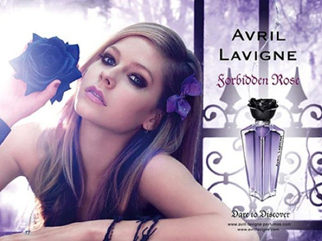 Avril Lavigne's Perfume Is So Edgy