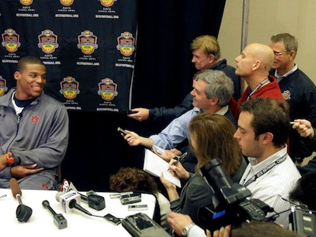 """Am I Sick? Are We All Sick?"": Overwrought Things The Media Wrote To Auburn's PR Guy During Cam Newton's Wild 2010 Season"