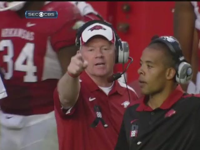 Bobby Petrino Is A Sore Loser