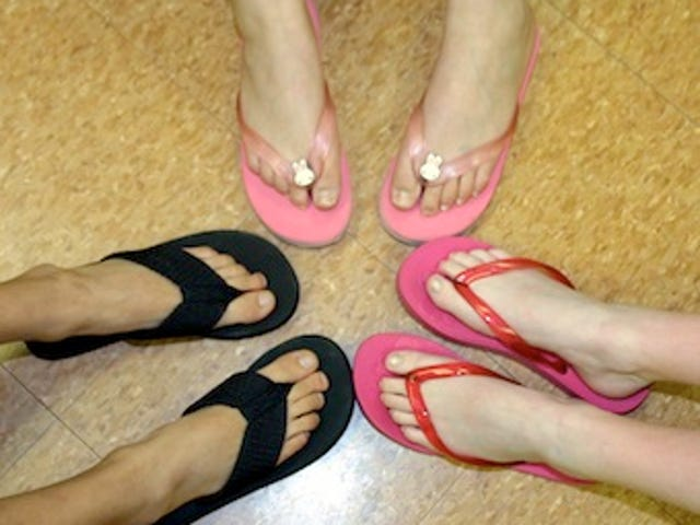 Flip-Flops Cause More Foot Problems Than High Heels
