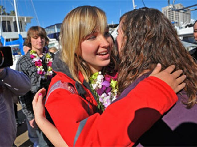 Teen Sailor Abby Sunderland Found Alive In Indian Ocean