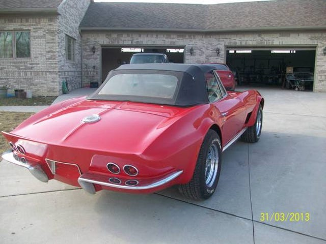 For Sale (CL): 1965 Corvette $23,500