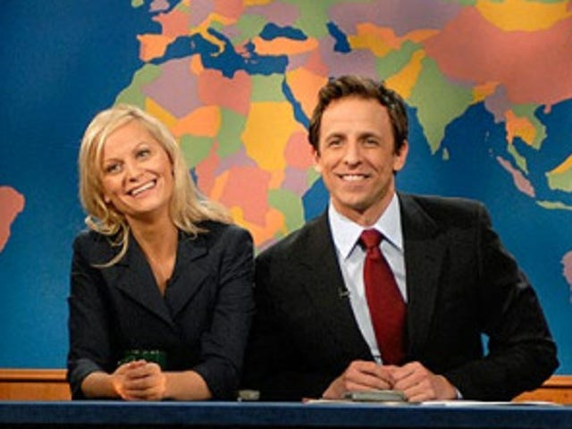 Amy Poehler Returning To Weekend Update Throne