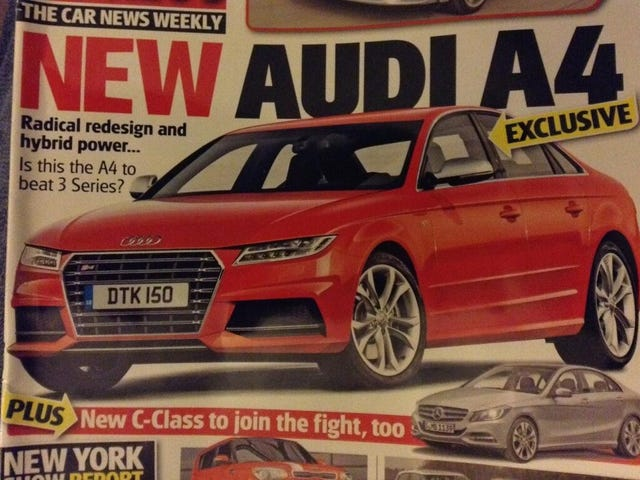 Is this the next Audi A4