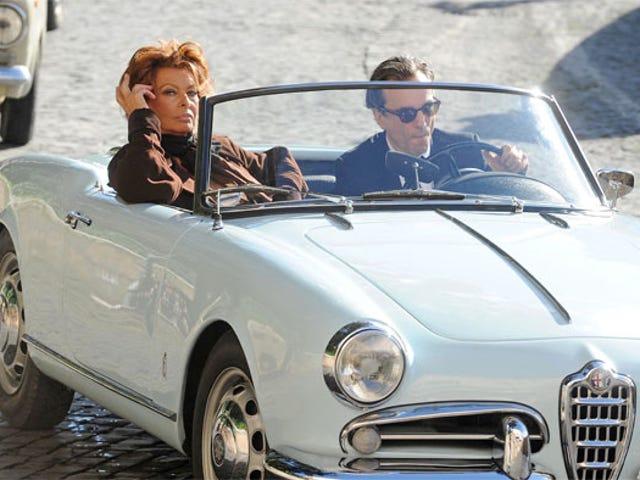 Sophia Loren Rides Shotgun, Shoots Daggers