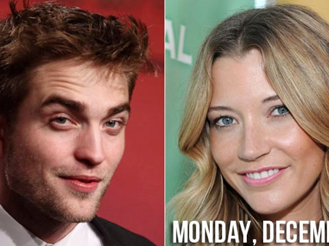 Robert Pattinson Shares Car, Maybe Bodily Fluids, With Random Blonde