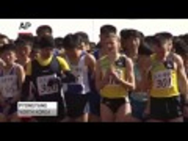 Raw Video Of A Marathon In North Korea Is Eerily Disquieting, Perfectly North Korean