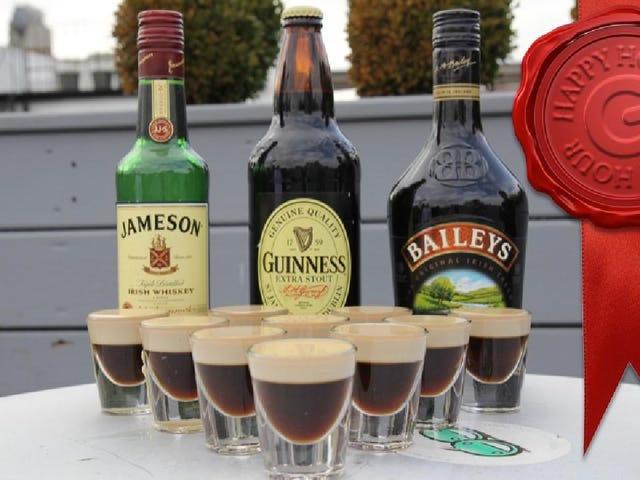Car Bomb Jello Shots Blow Up Your Liver for St. Patrick's Day