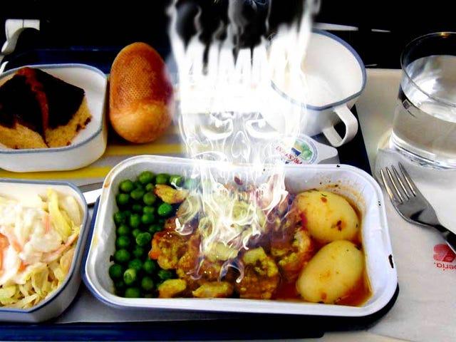 Airplane Food Finally Kills Someone, Says Lawsuit