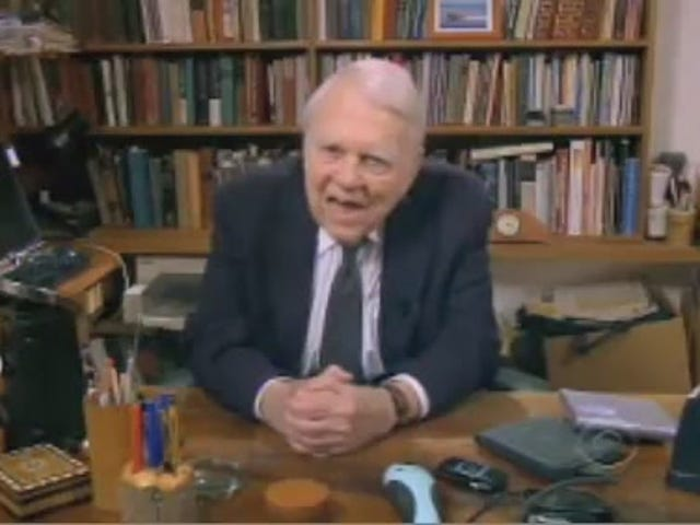 Andy Rooney Hates Gadgets, Cars, and Gadgets in Cars