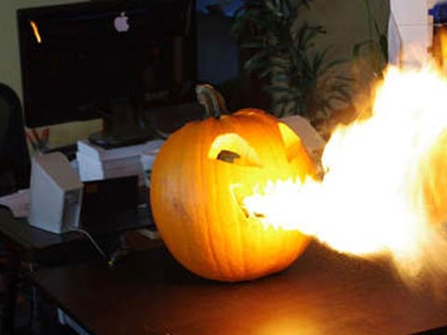 How to Build Your Very Own Flamethrower Jack-O'-Lantern