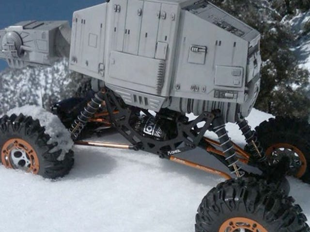 "4WD Imperial Crawler Hack Makes the AT-AT Even More ""Off-Roadier"""