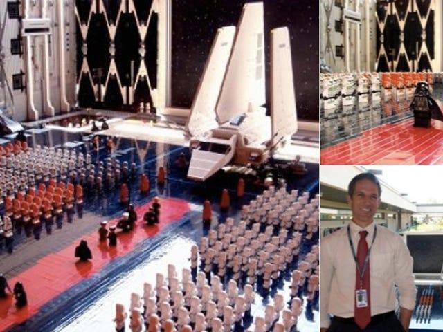 Look at This Incredible $2,300, 30,000 Brick Lego Imperial Hangar