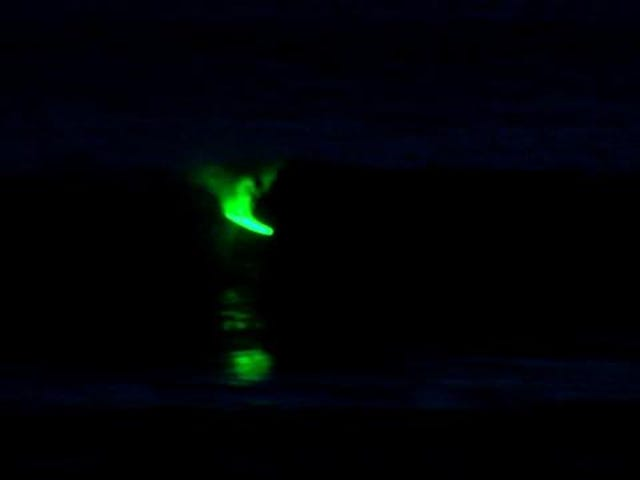 Night Surfing With LEDs Is Even Cooler Than It Sounds
