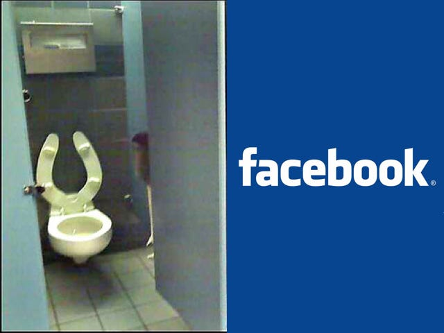 """Facebook Edges Out Toilets On Survey of """"Things You Can't Live Without"""""""