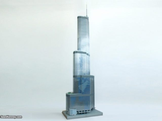 10-Foot-Tall Lego Trump Tower Is the First Trump Building I Actually Want to Visit