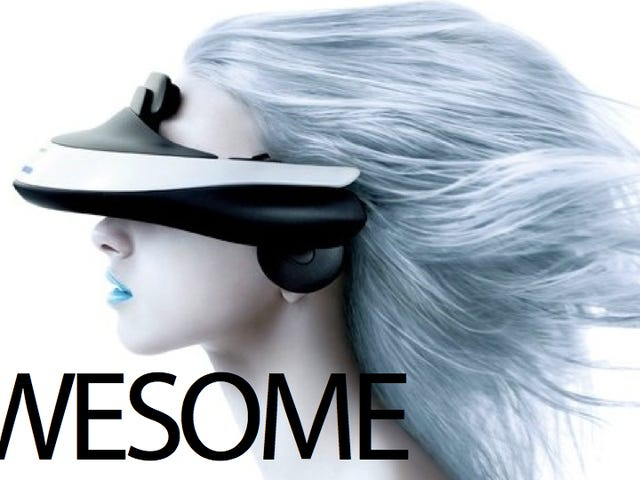 Sony's Wearable 3D Home Theater Sits on Your Face