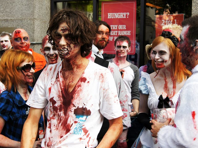 In People's Minds, Being a Zombie Is Better than Being a Vegetable