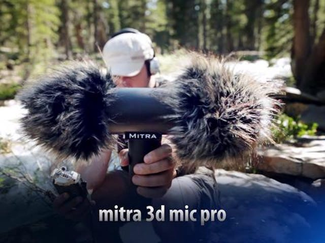3D That Doesn't Suck: The Mitra 3D Microphone Pro (Yup, 3D Audio)