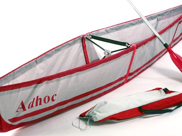 A Canoe That Can Fit Inside a Backpack