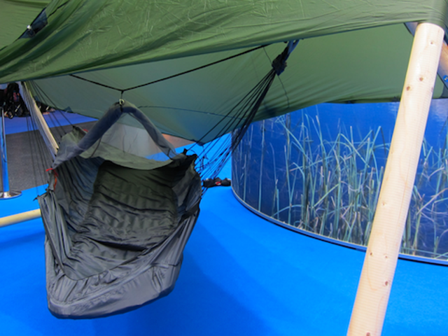 A Hammock That Stays Flat So You Can Actually Sleep In It