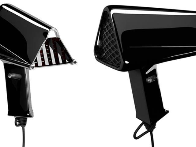 If Darth Vader Had Hair...and a Hair-Dryer