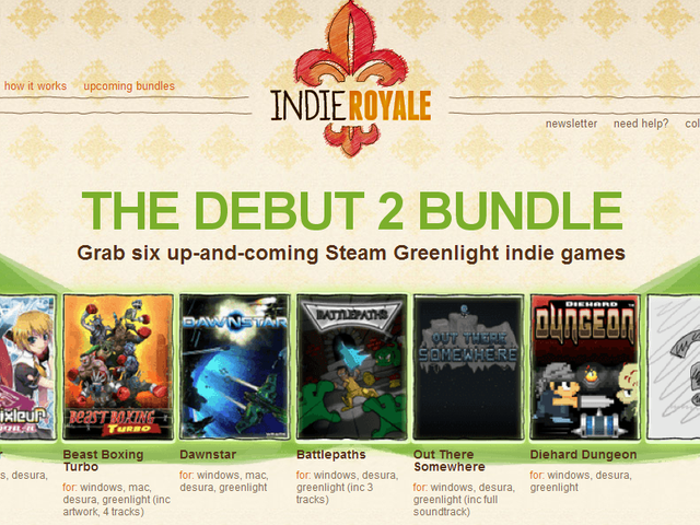 A new bundle from IndieRoyale is live - SIX new games for less than $5