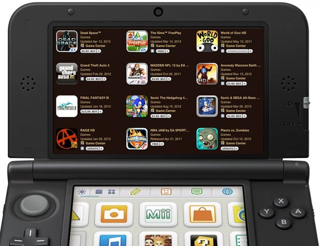 Nintendo's Plan To Make The 3DS Stand Out From The iPhone