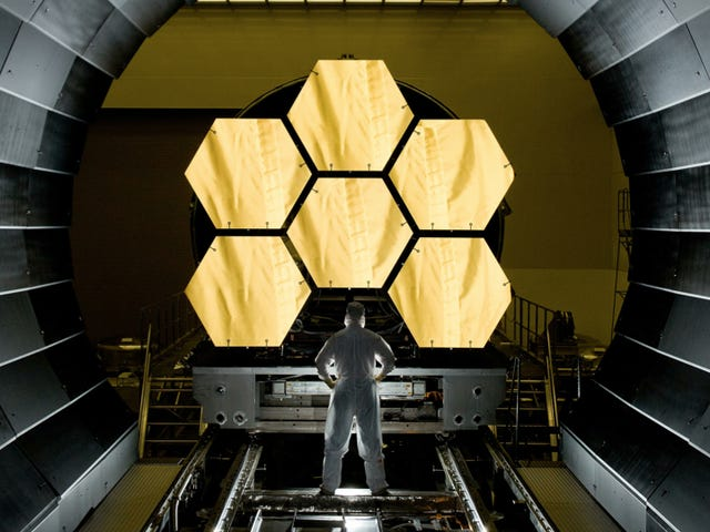 Watch the assembly of the James Webb Space Telescope — live via Webb cam!