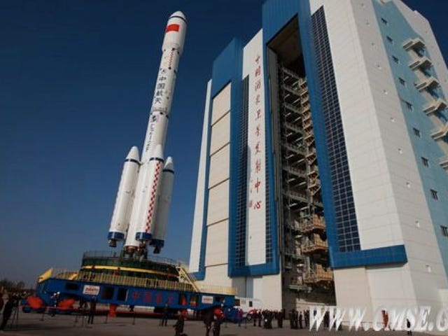 China will launch a prototype of its space station later this week