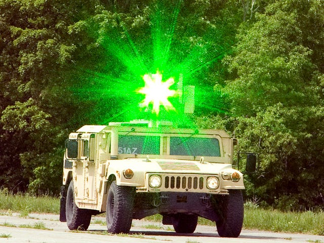 How today's military is using lasers to blow things up and light stuff on fire