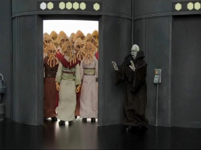 Emperor Palpatine's back and still kind of a dick in new Robot Chicken clip!