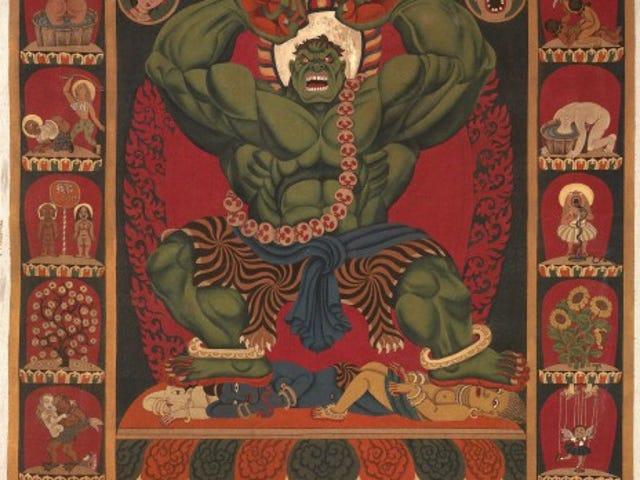 Tibetan Artist Turns Hulk And Spider-Man Into Himalayan Heroes