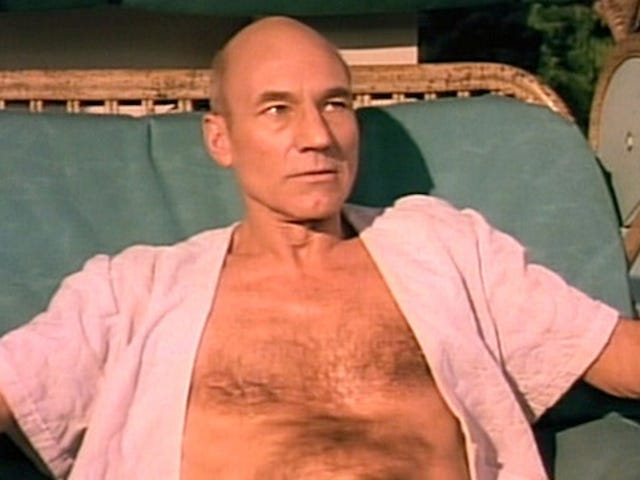 Captain Picard's vacation videos highlight this week's Blu-rays