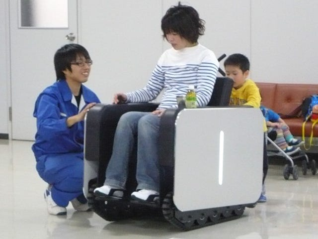 Is This Tiny Tank the Comfiest Wheelchair Ever?