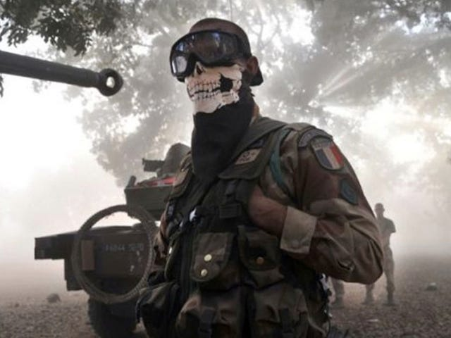 Why Soldiers Wear Call of Duty-style Masks
