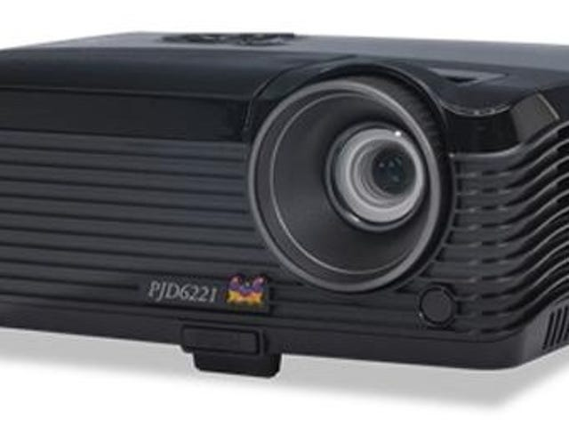 [GONE] Grab a refurbished 120Hz 3D ready DLP projector for less than $200