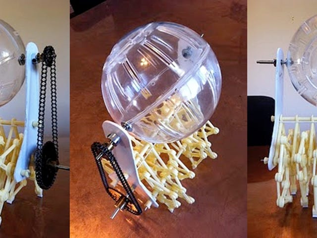 No Rodents Were Harmed In the Making of This Elaborate Hamster Wheel