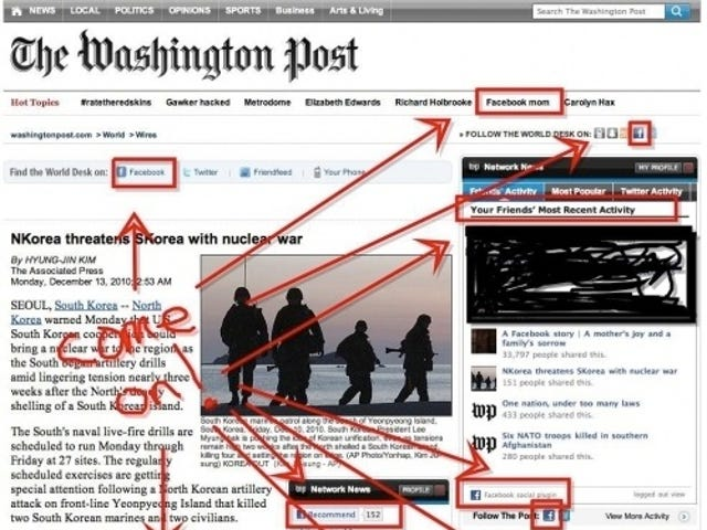 """The Washington Post Seems to Have Heard of this """"Facebook"""" Site"""