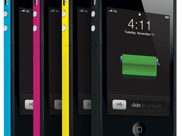 Mophie Juice Pack Plus Makes Your iPhone 4 a Marathon Man