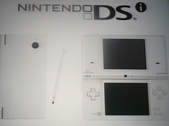 Nintendo DSi Boosts Screen Size, Adds Camera and Audio Player